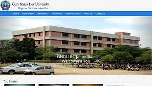 GNDU RC Jalandhar (2015 Version)